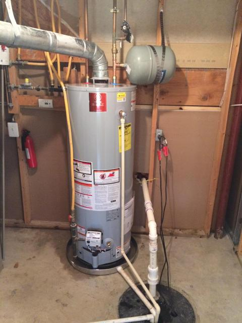 Water Heater With Expansion Tank Replacement Dulles